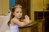 Melayna First Communion